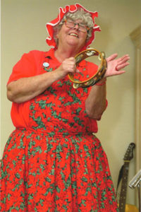Godfrey Coppinger as Mrs. Claus